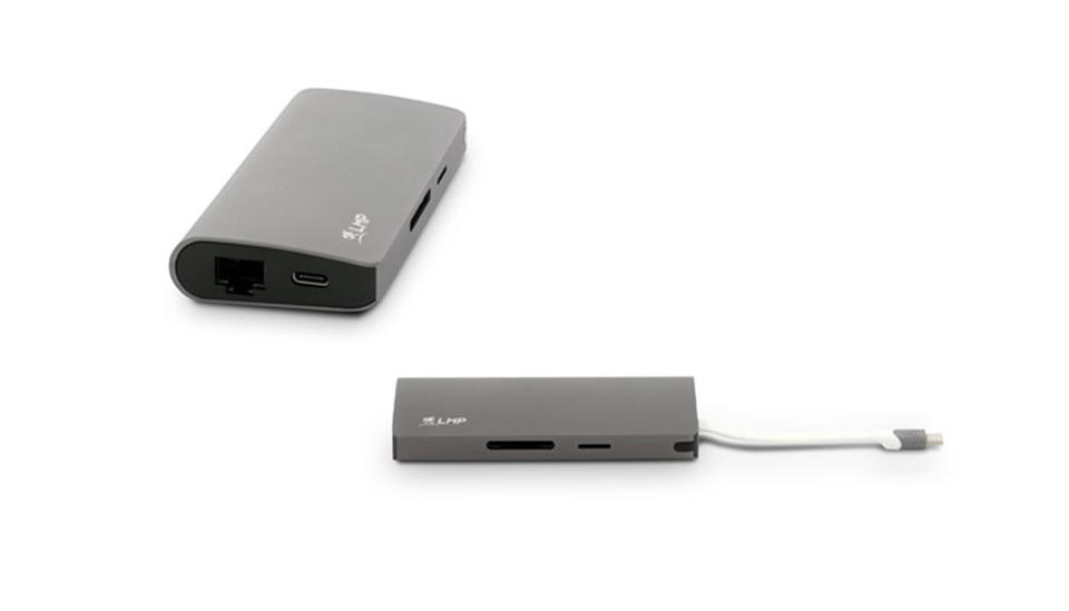 """USB-C Travel Dock """"4K 9 Port"""" von LMP"""
