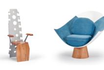 """Aus der Luft ins Wohnzimmer: """"A Piece of Sky"""" vertreibt Möbel aus Flugzeugteilen. Foto: A Piece of Sky/Airbus"""