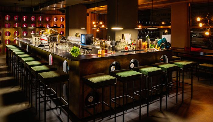 Bar im JAMS; Foto: PR
