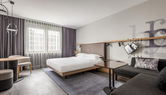 Executive Room im Frankfurt Airport Marriott Hotel. Foto: Marriott International