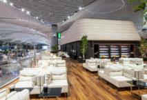 Die Business-Lounge der Turkish Airlines am neuen Istanbul Airport. Foto: PR
