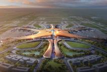 Das neue Terminal von Star-Architektin Zaha Hadid. Foto: Render by Methanoia © Zaha Hadid Architects