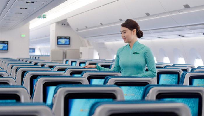 Vietnam Airlines bietet auf ausgewählten innerasiatischen Strecken WLAN an. Foto: Vietnam Airlines