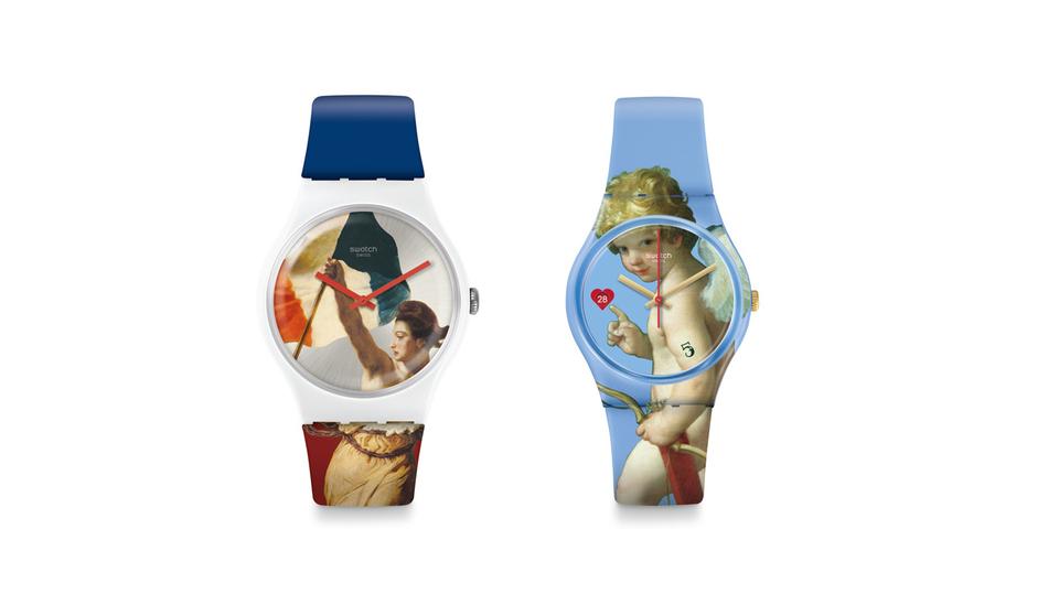 Swatch in Kooperation mit dem Louvre