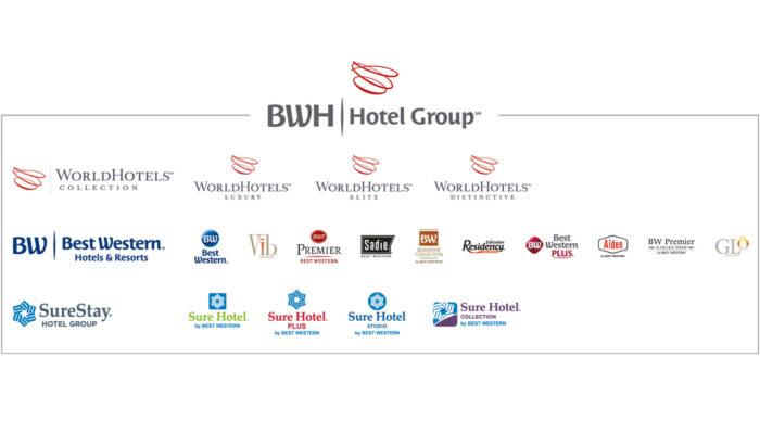 Unter der BWH Hotel Group versammeln sich 17 Einzelmarken. Grafik: BWH Hotel Group