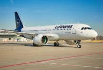 A320neo am Münchner Drehkreuz. Foto: Lufthansa Group