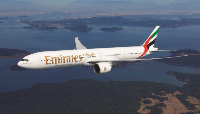 Typ Boeing 777-300ER ein. Foto: Emirates
