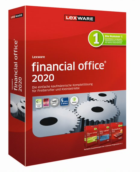 Lexware financial office: Bei komplexen Vorgängen wie der Lohnabrechnung helfen Assistenten.