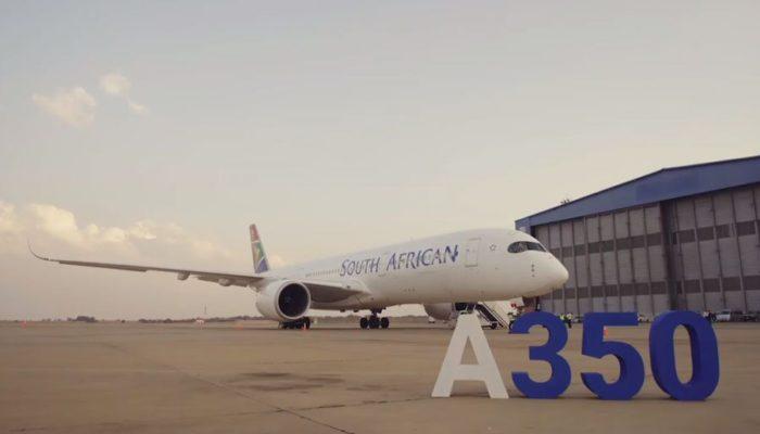 Die A350-900 fliegt künftig auf der Frankfurt-Route der SAA. Foto: South African Airways