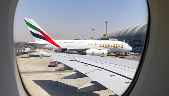 Im Jadec-Ranking der sichersten Airlines 2019 steht Emirates auf Rang 1. Foto: iStock.com/BeyondImages