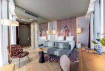 nhow Amsterdam RAI: ein Zimmer im Designstil East. Foto: NH Hotel Group