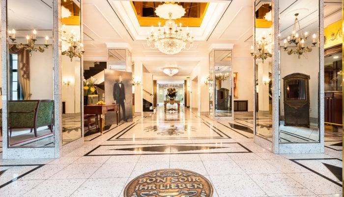 Die Lobby im Best Western Premier Grand Hotel Russischer Hof Weimar. Foto: Best Western