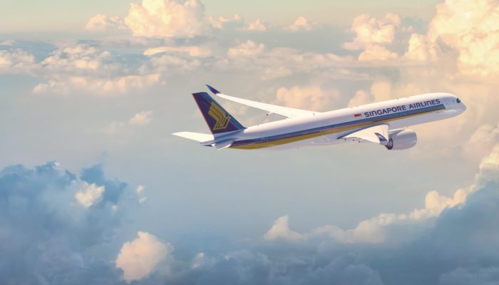 A350-900 der Singapore Airlines. Foto: Singapore Airlines