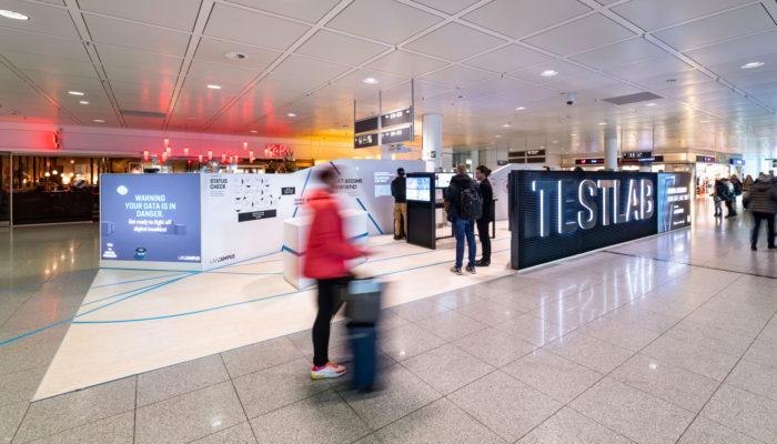 Das Testlab im Terminal 2 des Münchner Airports. Foto: Flughafen München GmbH