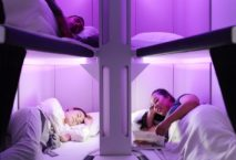 """""""Economy Skynest"""": Schlafkapseln für die Economy Class. Foto: Air New Zealand"""