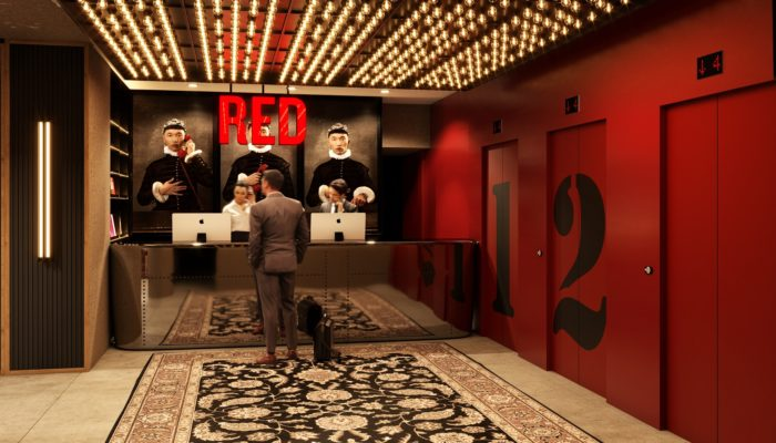 So soll es aussehen, das Radisson RED Cologne. Foto: Radisson Hotel Group