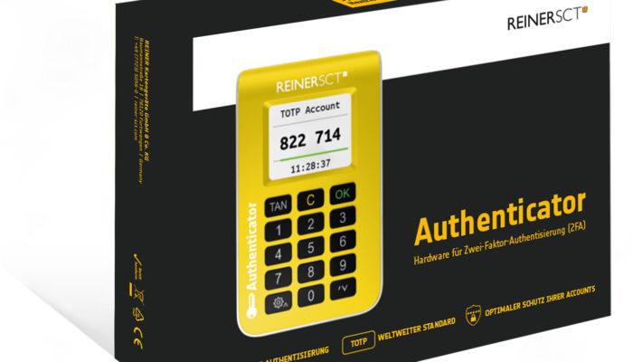 REINER SCT Authenticator. Bild: PR
