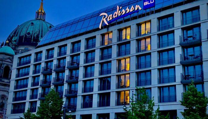 Radisson Blu Hotel, Berlin; Foto: Radisson Hotel Group