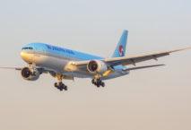 Will den internationalen Flugplan ab Juni wieder erweitern: Korean Air. Foto: iStock.com/Kristian1108