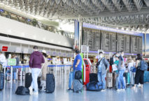 Terminal 1 Abflughalle C in Frankfurt; Foto: Fraport AG