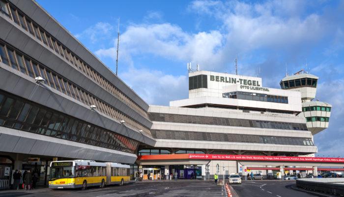 Abschied Berlin Tegel Air France