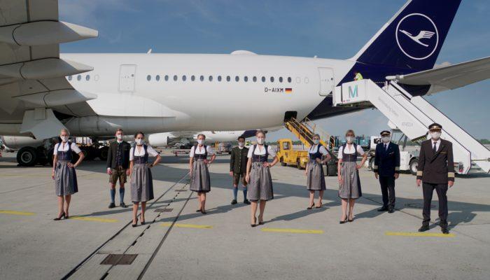 Lufthansa-Trachtencrew 2020