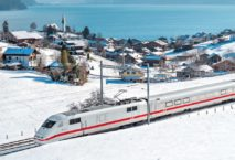 ICE bei Faulensee im Berner Oberland; Foto: Schweiz Tourismus