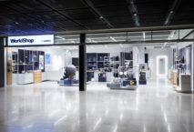 Lufthansa-Worldshop am BER