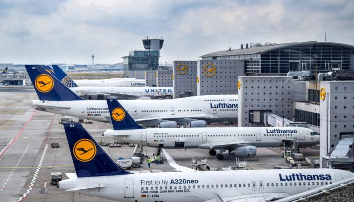Lufthansa Ausprobiert Corona-Jahr 2020