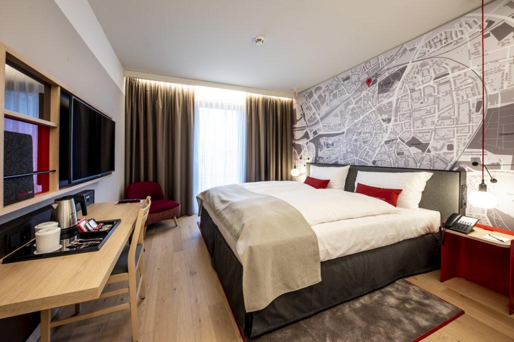 Das IntercityHotel Hildesheim verfügt über 150 moderne Gästezimmer. Foto: Steigenberger Hotels AG