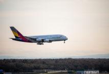 Kapazitäten Asiana Airlines Frankfurt