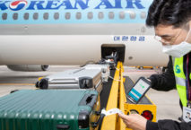 Korean Air Gepäckverfolgungsservice