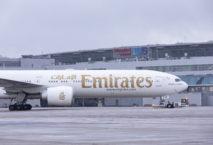 Emirates in Düsseldorf, Foto: Flughafen Düsseldorf