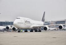 Die B747-8 von Lufthansa. Foto: Lufthansa