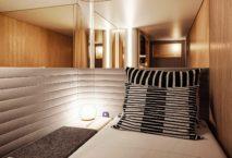 Midnight Trains Zimmer. Foto: Midnight Trains