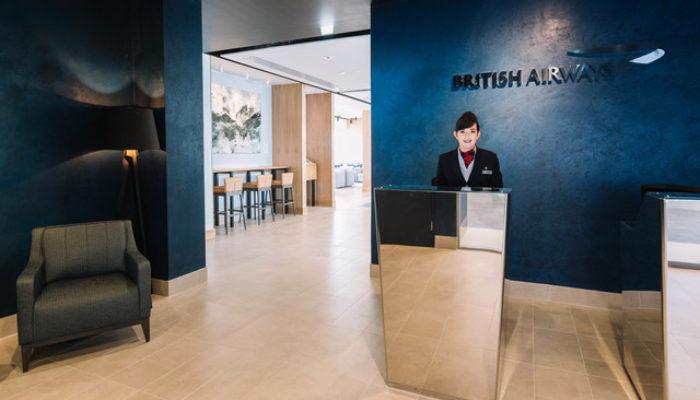BA Lounge in Aberdeen. Foto: British Airways