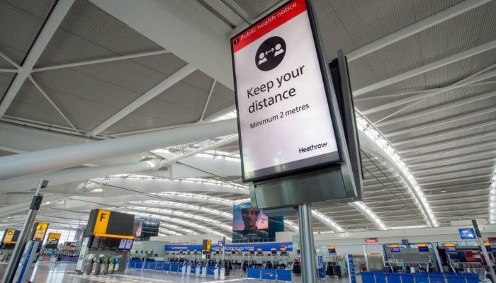 Flughafen Heathrow, Terminal 5A. Foto: Heathrow