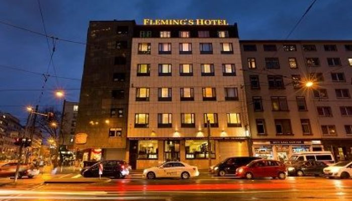 Das Flemings Hotel Frankfurt-Messe ist zu. Foto: Flemings Hotels