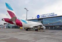Eurowings fliegt von Nürnberg nach Düsseldorf und Hamburg. Foto: Flughafen Nürnberg
