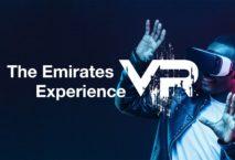 Das Virtual Reality-Erlebnis von Emirates. Foto: Emirates