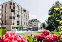 Das Harry's Home Hotel in Bischofshofen eröffnete im Juli 2021. Foto: harry's home hotels & apartments/Daniel Zangerl