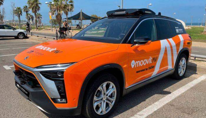 Das Robotaxi von Sixt und Mobileye soll 2022 durch München fahren. Foto: Sixt/Mobileye