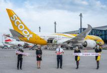 Scoot fliegt bald wieder täglich von Berlin nach Singapur. Foto: Günter Wicker/Flughafen Berlin Brandenburg GmbH