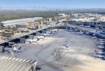 Der Flughafen Frankfurt. Foto: Fraport