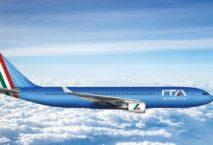 ITA Airways. Die eigene Bemalung ist zunächst noch ein Wunsch. Rendering: ITA Airways